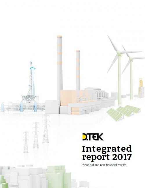 DTEK Integrated Report - 2017